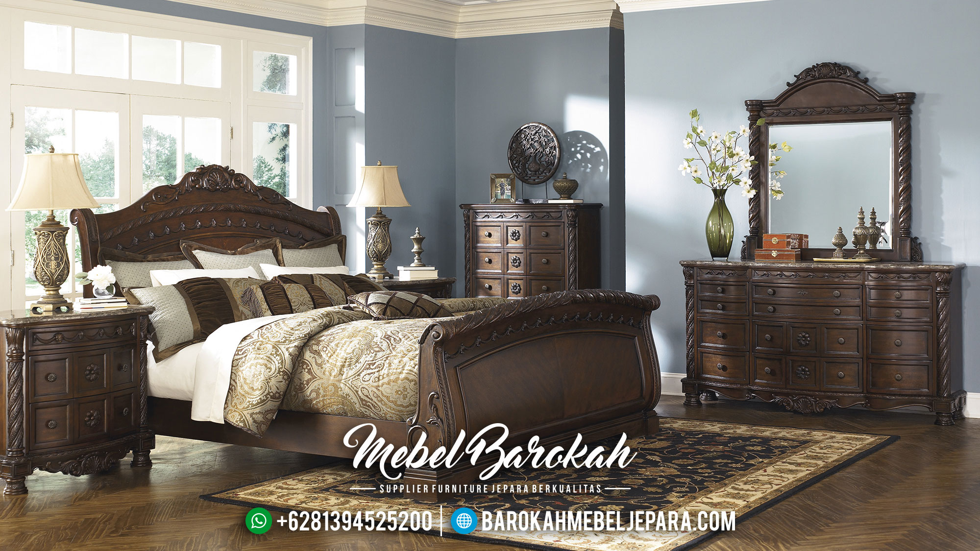 Mirror bedroom set 1600x1200 bedroom amazing design with for Furniture jepara