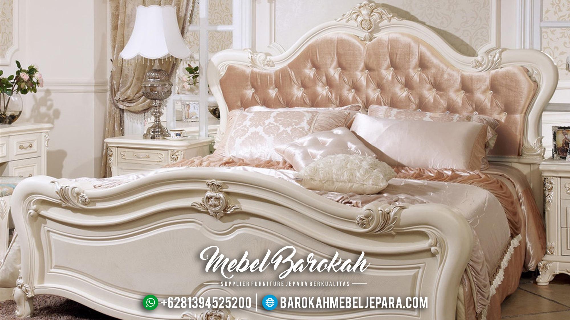 Set Kamar Tidur Klasik Mewah Terbaru Jepara Shaen Krov MB-004 Gambar 1