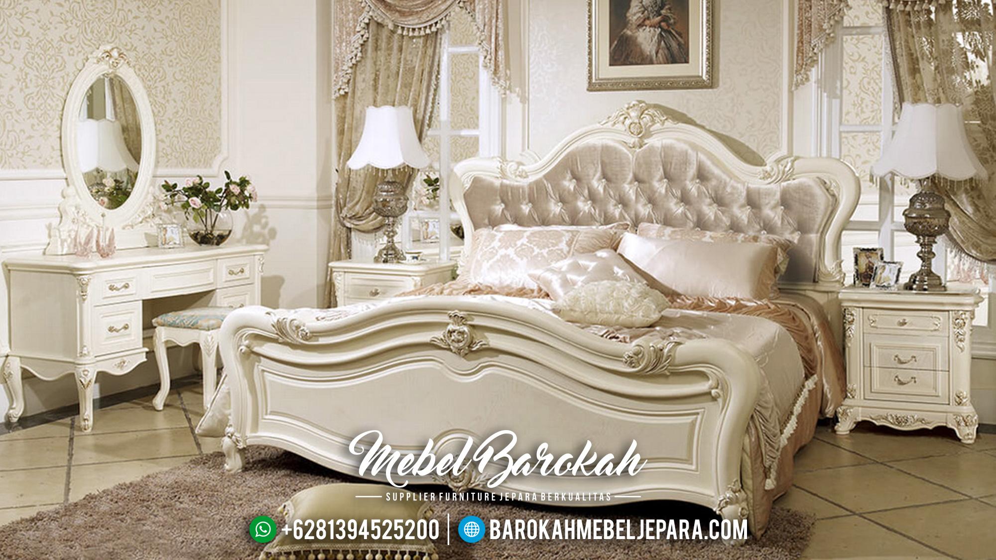 Set Kamar Tidur Klasik Mewah Terbaru Jepara Shaen Krov MB-004