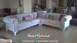 Sofa Sudut Minimalis Ruang Tamu Mewah MB-002