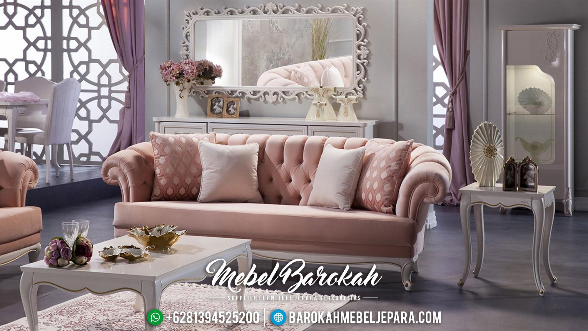 Sofa Tamu Mewah Jepara MB-001 Gambar 1