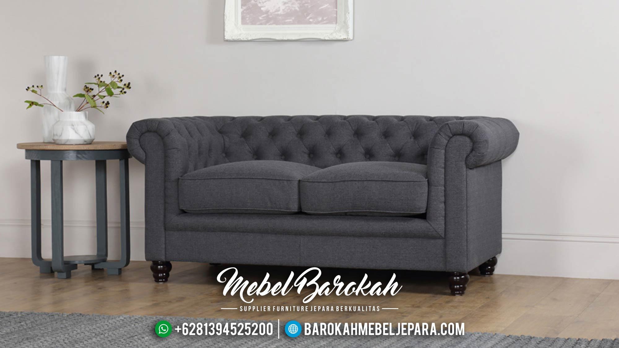 Jual 1 Set Sofa Tamu Mewah Minimalis Jepara Chesterfield MB-0020 Gambar 2