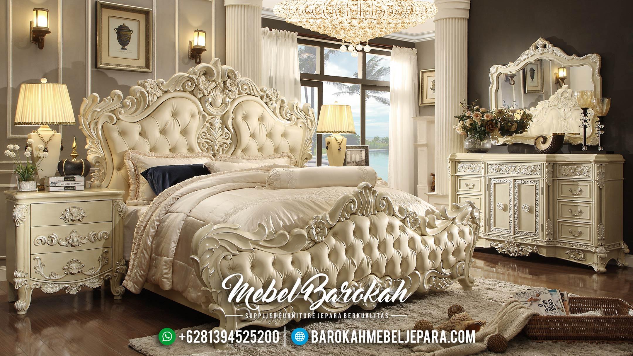 Set Kamar Tidur Jepara, Kamar Set Mewah Terbaru, Tempat Tidur Minimalis MB-0024