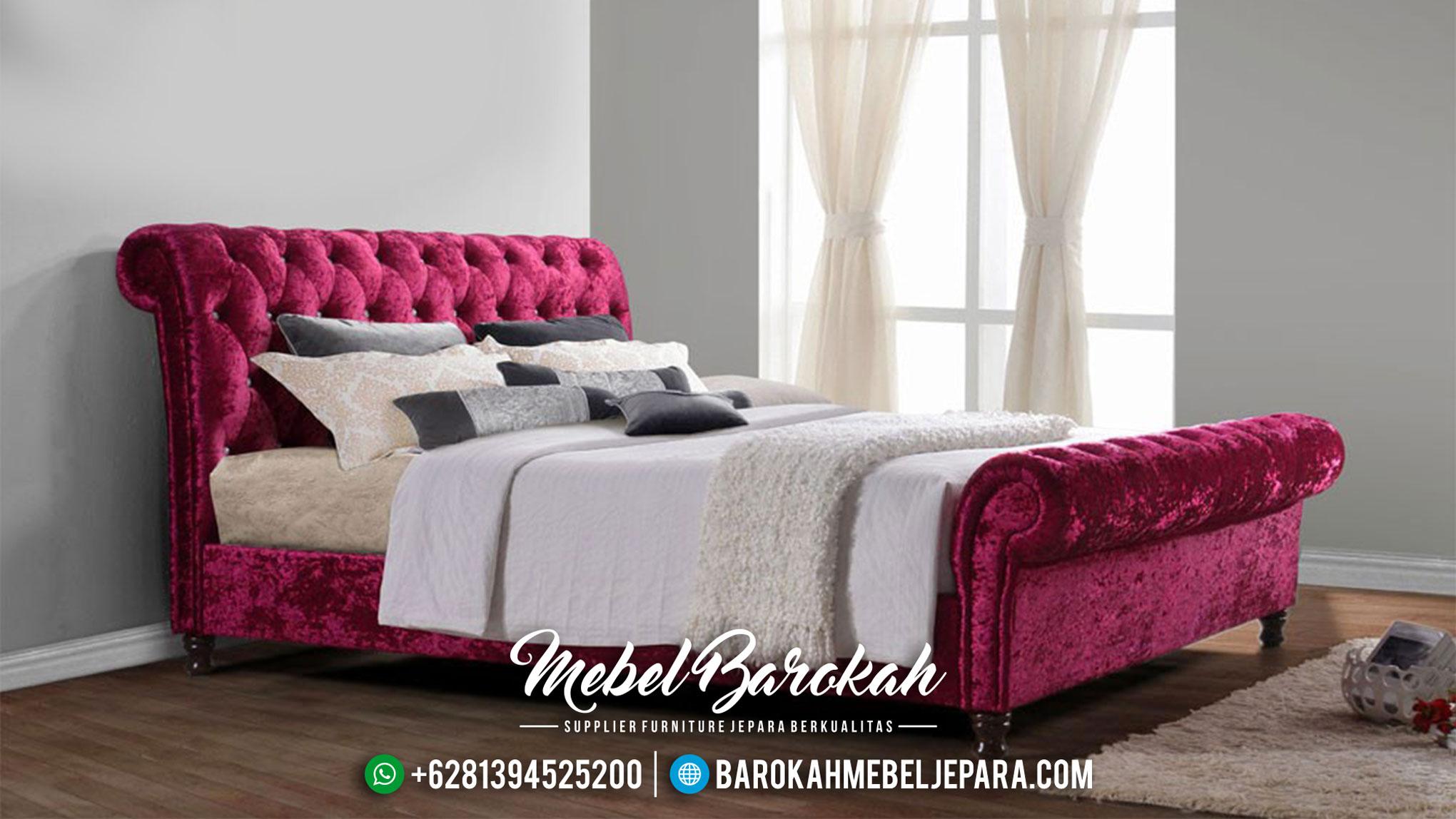 Tempat Tidur Minimalis Terbaru Kamar Set Jepara Mewah Full Cover MB-0028