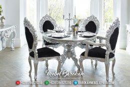 Meja Makan Jepara Terbaru, Set Meja Makan Mewah Minerva Klasik, Mebel Jepara Murah MB-0051