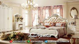 Kamar Set Mewah Terbaru, Tempat Tidur Jati Jepara, Set Kamar Tidur Pengantin Mewah MB-0079