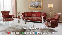 Set Sofa Tamu Mewah Nidda Model Mebel Jepara Terbaru MB-0059