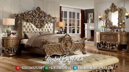 Kamar Set Jepara Mewah, Set Tempat Tidur Mewah Klasik, Set Kamar Tidur Terbaru MB-0097