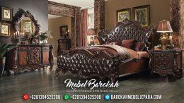 Mebel Jepara Terbaru, Set Tempat Tidur Mewah Klasik, Kamar Set Mewah Jepara MB-0101