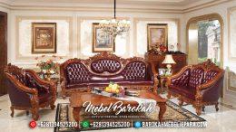 Sofa Tamu Jepara Mewah, Kursi Tamu Jati Jepara, Set Ruang Tamu Terbaru MB-0086