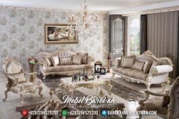 Kursi Tamu Mewah, Sofa Ruang Tamu Terbaru, Sofa Tamu Mewah Jepara MB-0108