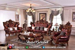 Set Sofa Tamu Jepara Super Mewah Big Royale Ukiran Klasik Jati MB-0109