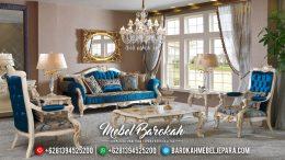 Mebel Jepara Terbaru Set Kursi Sofa Tamu Mewah Classic Barcelona MB-0131