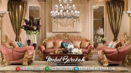 Set Sofa Tamu Mewah Jepara Terbaru Model Brunello Bellagio MB-0129