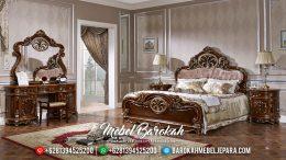 Jual Furniture Classic Tempat Tidur Jepara Mewah Jati Ukir Monalisa MB-0136