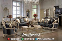 Jual 1 Set Sofa Tamu Mewah Jepara Model Klasik Terbaru Duco Chamonix MB-0151