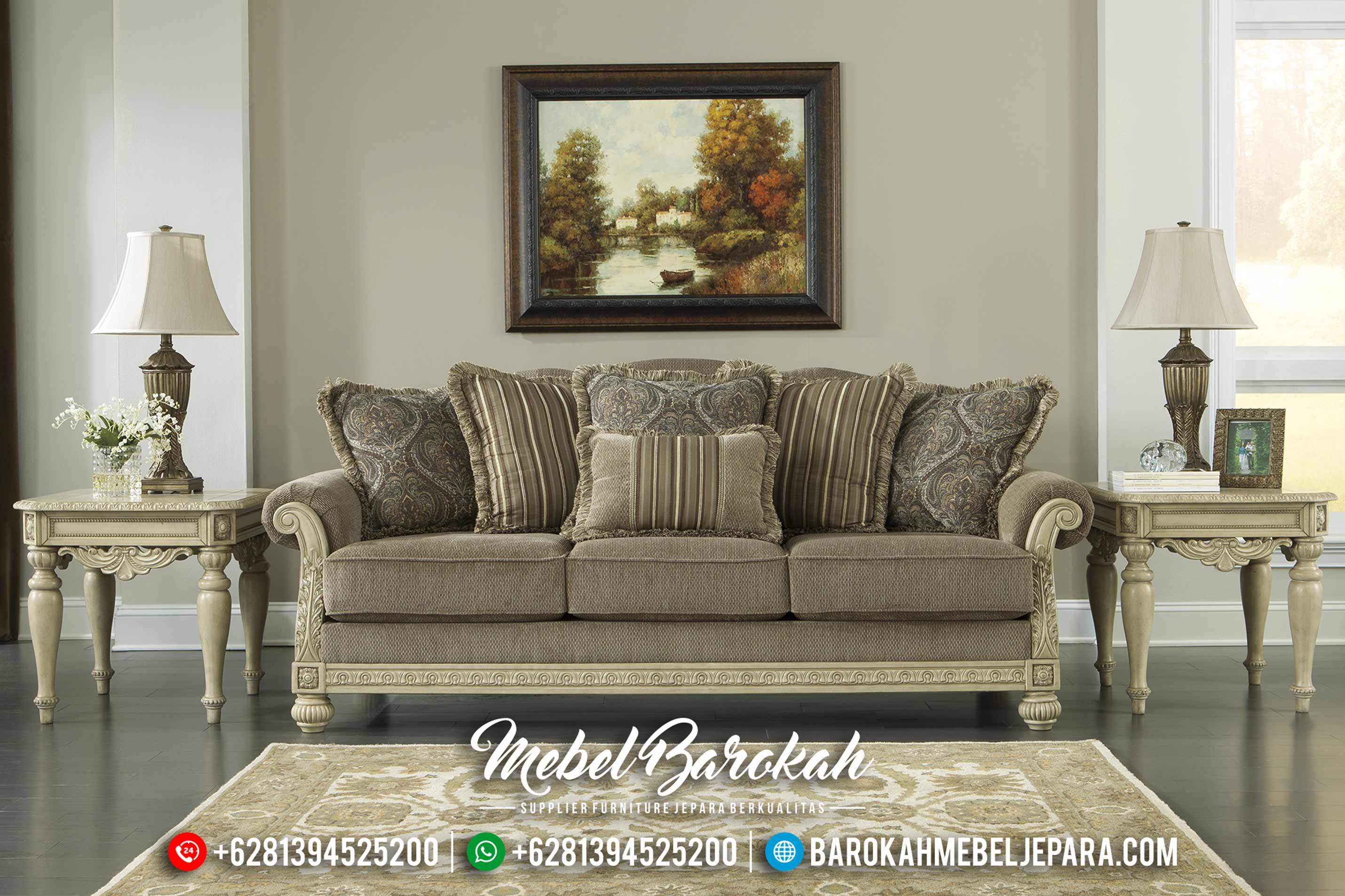 Jual Best Seller Furniture Sofa Tamu Jepara Mewah Minimalis Terbaru MB-0153 Gambar 1