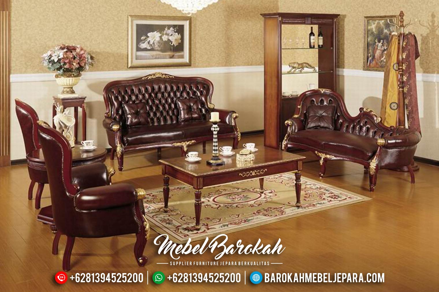 Sofa Tamu Jepara Mewah Minimalis Klasik Terbaru Victorian MB-0163