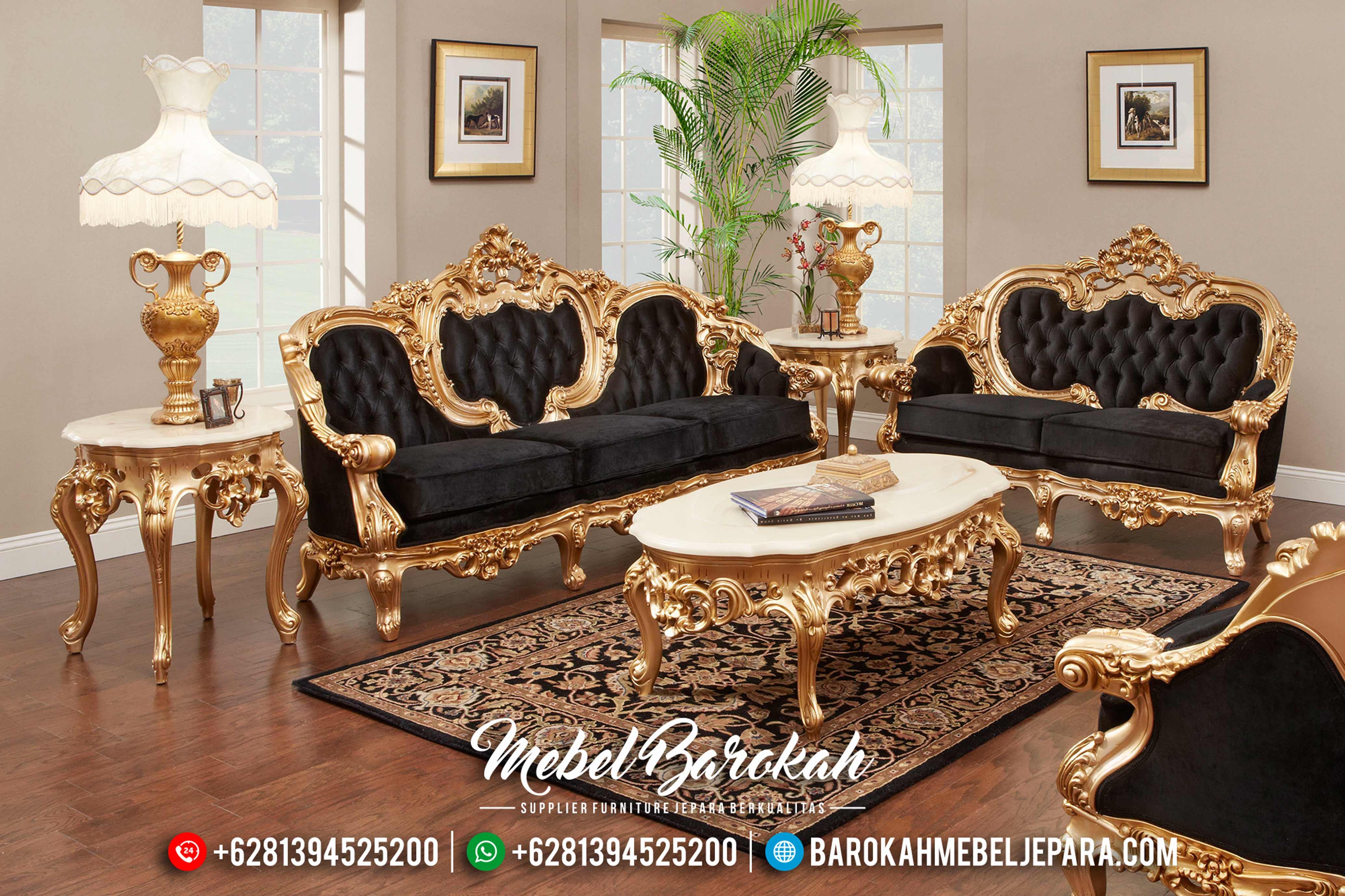Sofa Tamu Jepara, Sofa Tamu Mewah Klasik, Mebel Jepara Terbaru MB-0165