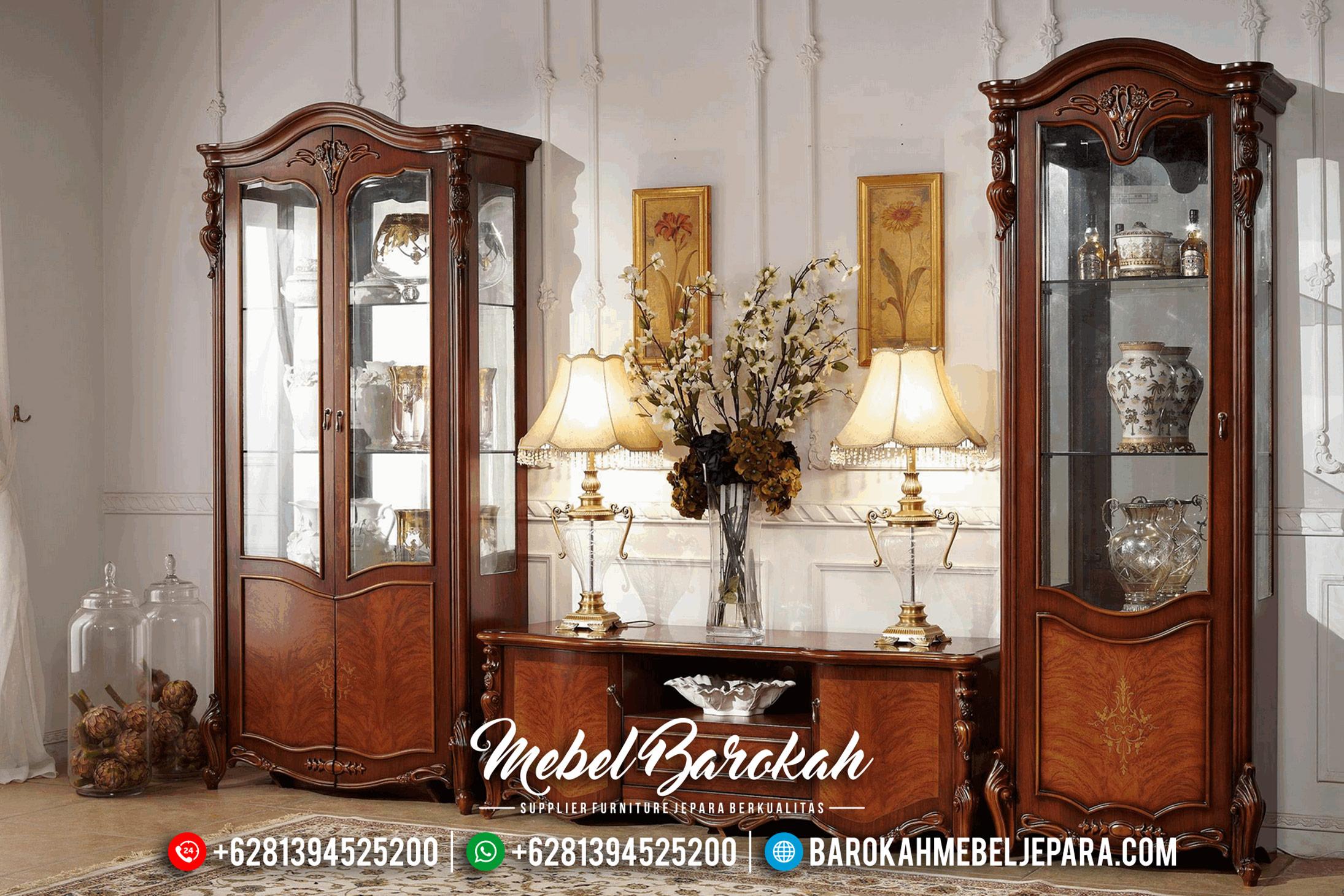 Jual Mebel Jepara Murah Lemari Hias Bufet TV Mewah Minimalis Terbaru MB-0171