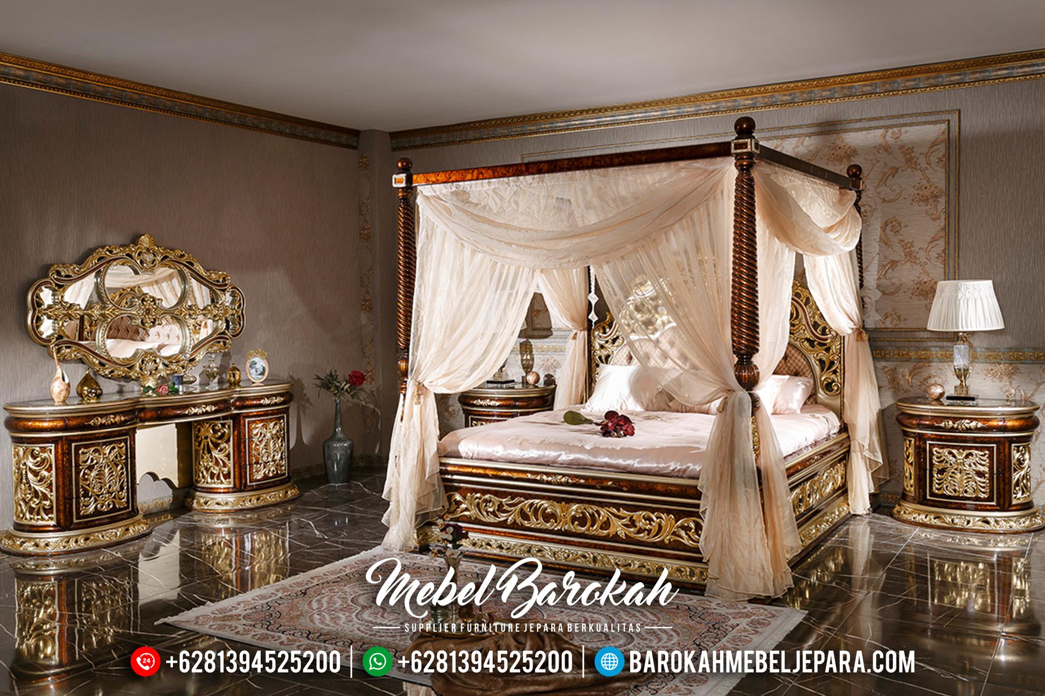Luxury Tempat Tidur Mewah Jepara Sultan Yatak Odasi Terbaru MB-0178