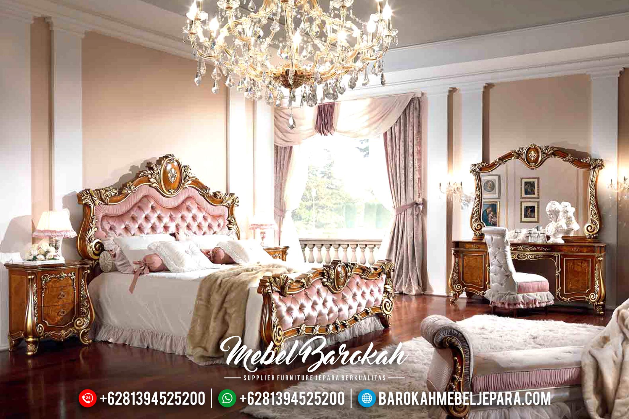 Furniture Indonesia Mebel Murah Tempat Tidur Jepara Mewah Klasik MB-0179