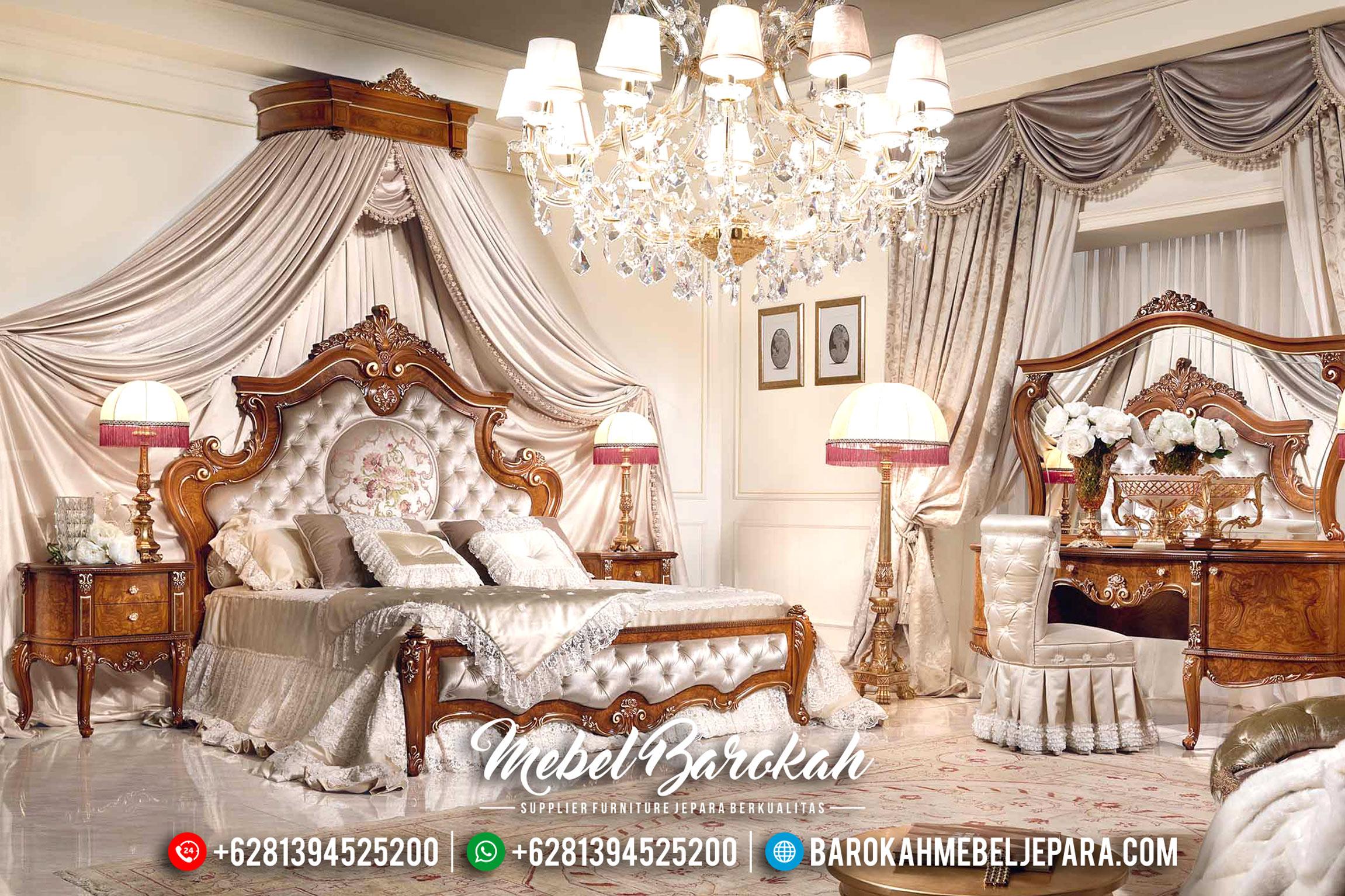 Kamar Set Mewah Pengantin Tempat Tidur Jepara Royal Luxury Furniture MB-0186