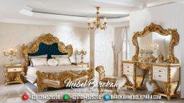 Set Tempat Tidur Mewah, Tempat Tidur Jepara Duco, Ranjang Pengantin Mewah MB-0188