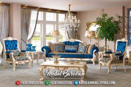 Sofa Tamu Jepara Terbaru, Kursi Sofa Mewah, Ruang Tamu Mewah 2019 MB-0192