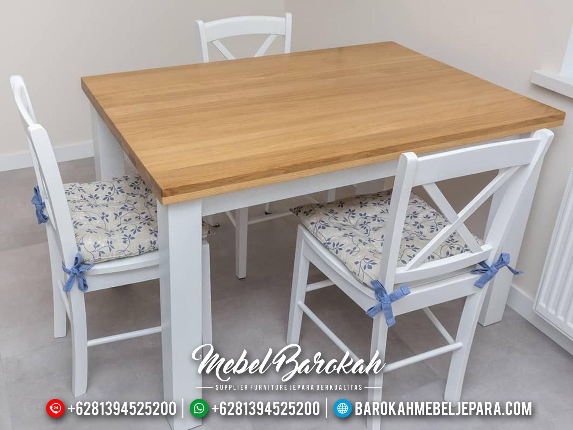 Meja Makan Cafe, Set Meja Café, MB-0218