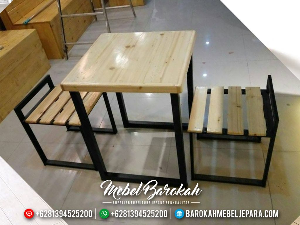 Jual Meja Cafe, Set Meja Café, MB-270
