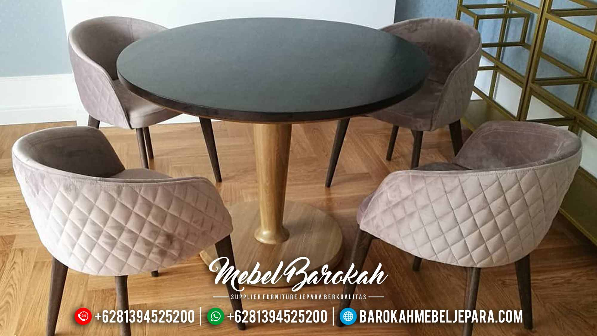 Meja Makan Mewah, Meja Makan Ukiran Mewah, MB-0281, Barokah Mebel Jepara