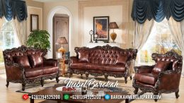 Jual Set Sofa Tamu Jepara Ukiran Jati Natural MB-0302