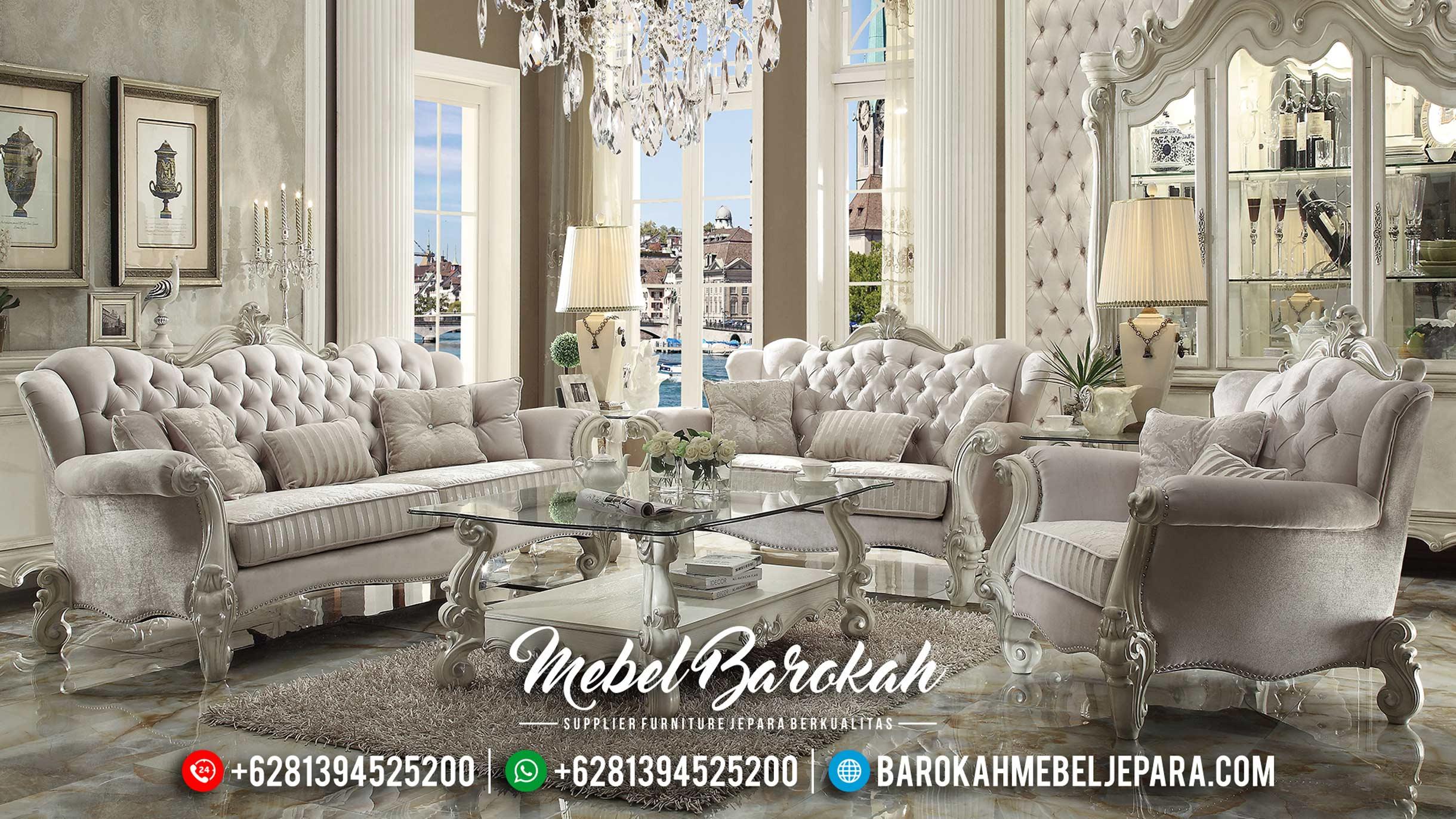 New Set Sofa Tamu Mewah Duco Italian MB-0311