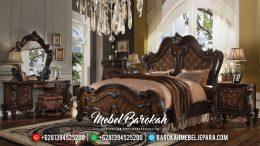 New Kamar Set Mewah Natural Ukiran Jepara MB-0324