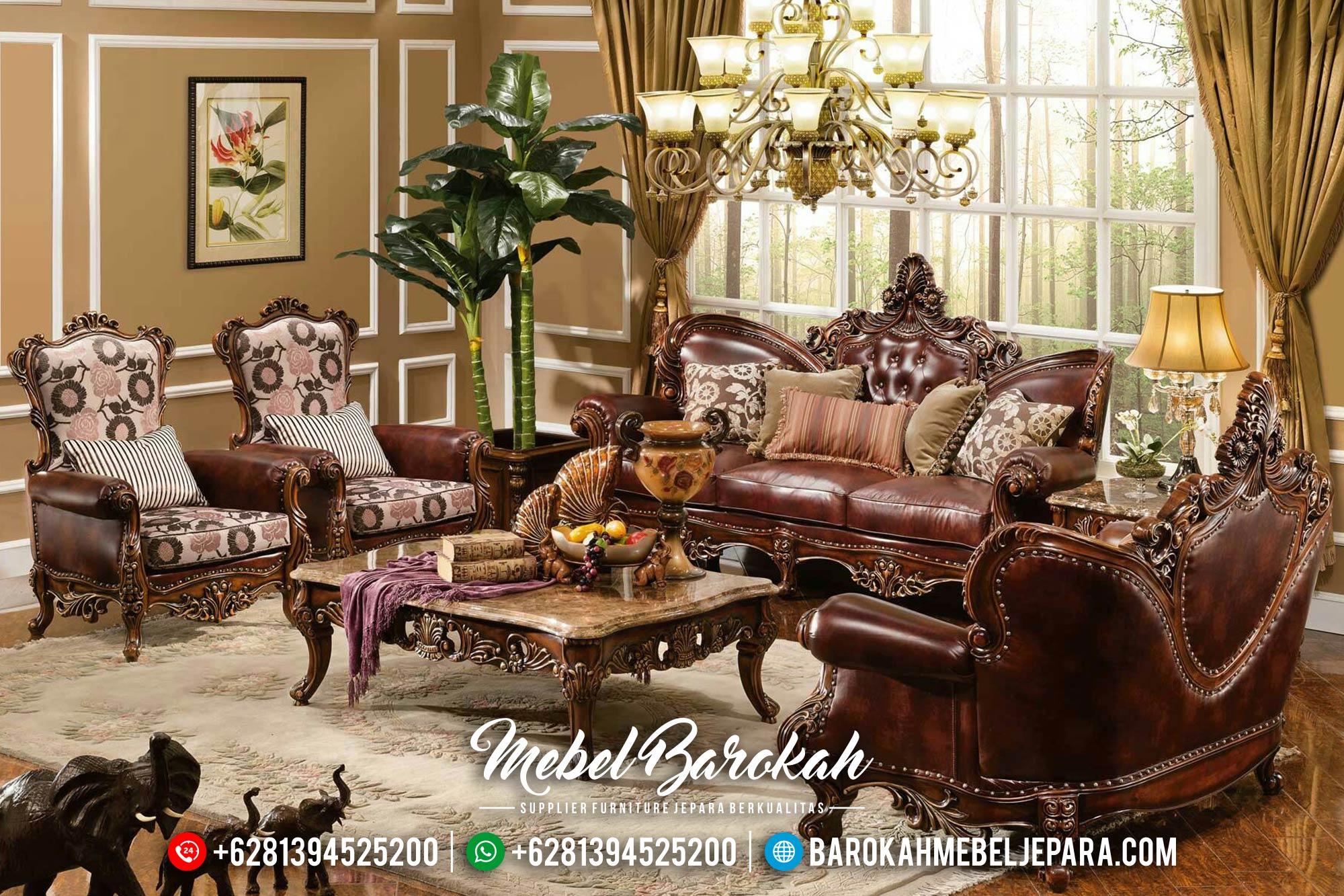 Set Kursi Sofa Tamu Jepara Jati Seri Jayus MB-0306