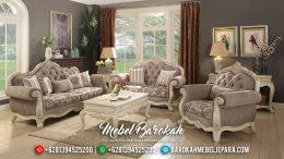 Set Kursi Sofa Tamu Mewah Jepara Ragenardus MB-0301