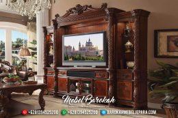 Bufet TV Mewah Jati Italian Baroque MB-0361