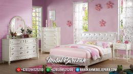 Jual Set Kamar Tidur Minimalis Modern Konsep Feminim Cantik MB-0410
