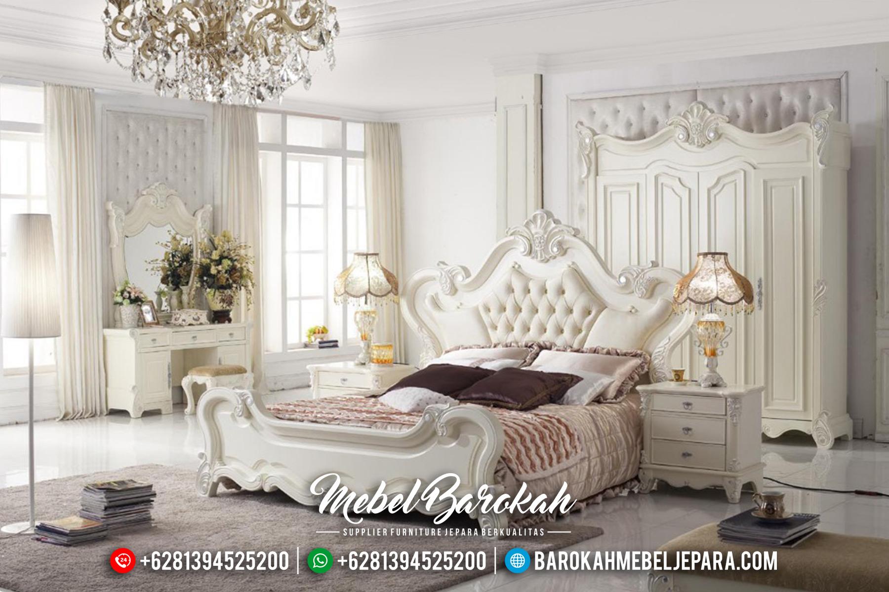 Kamar Set Mewah Duco Ukiran Jepara MB-0353