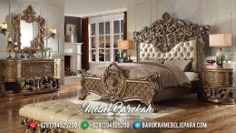 Luxury Classic Set Kamar Mewah Ukiran Jepara MB-0349