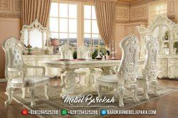 Mebel Terbaru Meja Makan Mewah King Arabian MB-0340