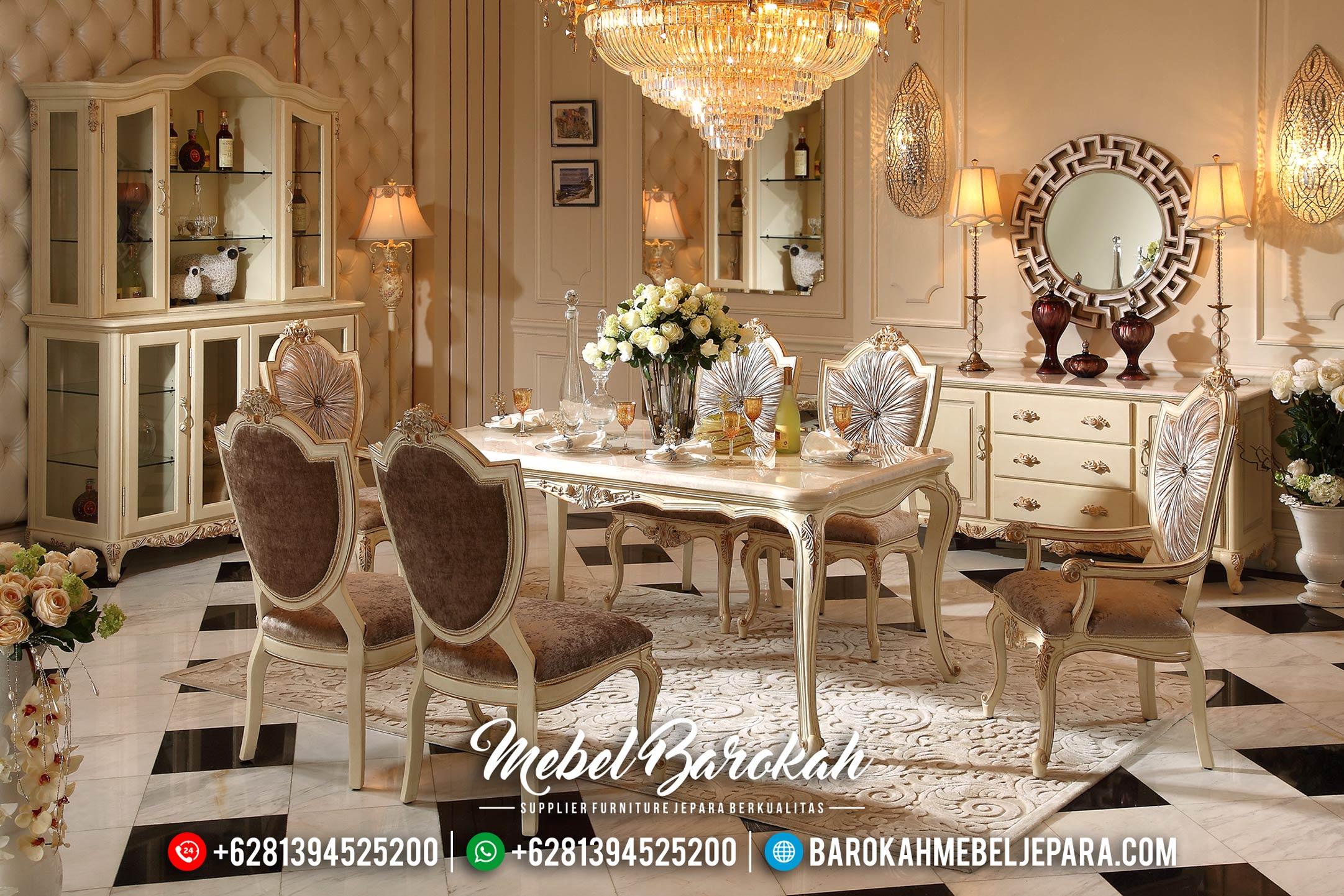 Meja Makan Klasik Gaya Eropa MB-0399