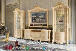 New Bufet TV Lemari Hias Pajangan Luxury Kingdom MB-0387