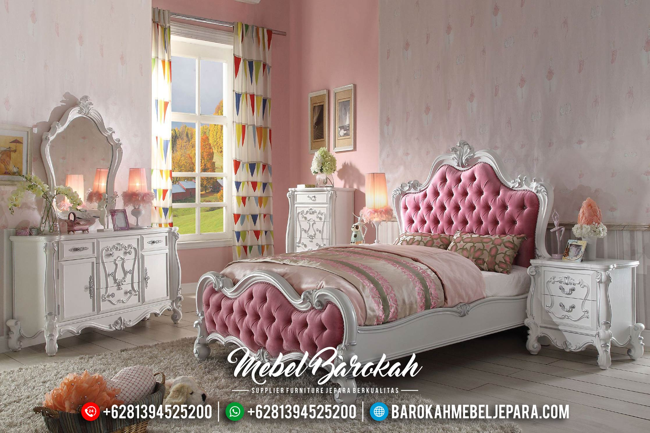 New Design Set Kamar Anak Mewah Alexandria MB-0359