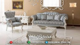 New Item Sofa Tamu Mewah Modern White Duco MB-0384