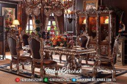 New Meja Makan Mewah Minerva Imperial Klasik MB-0335