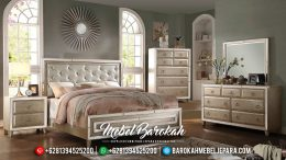 New Model Kamar Set Minimalis Elegan Champagne Color MB-0408