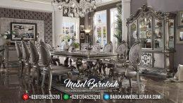 New Set Meja Makan Mewah Luxury Carving New Years Style MB-0377