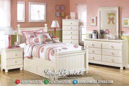 New Tempat Tidur Anak Vintage Duco Jepara MB-0345